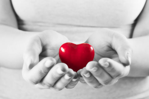 Your heart is in your hands