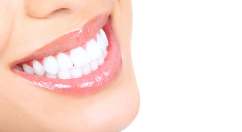 A lady with beautiful white teeth