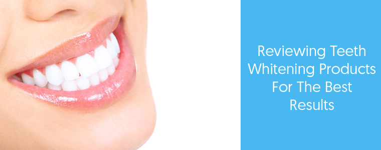 Teeth Whitening feature image with Text