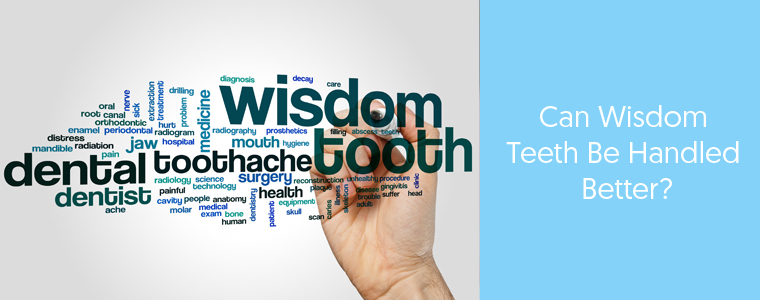 Wisdom teeth information banner