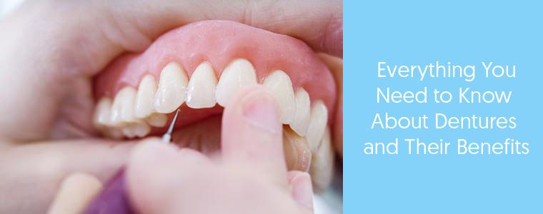 Designing dentures