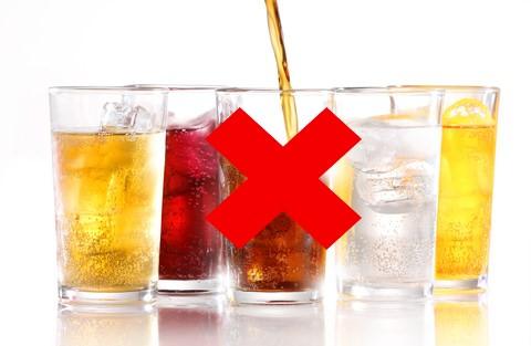 No to softdrink