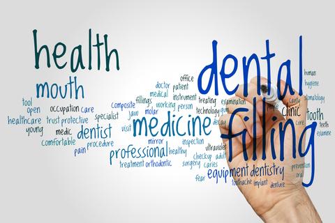 Dental filling sign