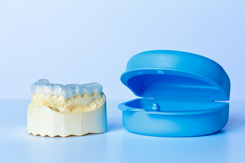 Custom-fitted mouthguard