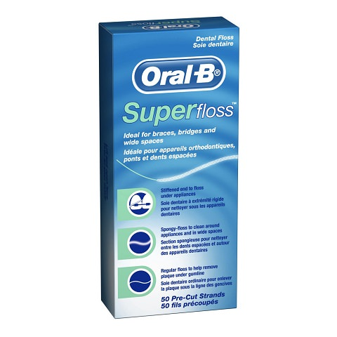 Super Floss to help with your Dental Bridge
