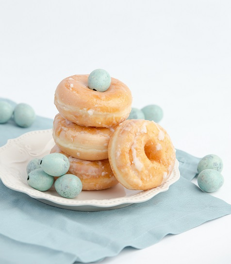 Donuts contain a lot of sugar