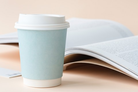 A coffee while reading