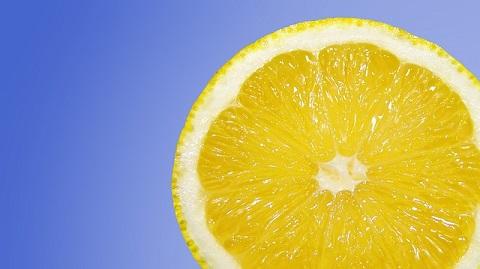 A acidic lemon