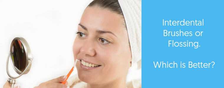 Interdental brushes vs Flossing feature image