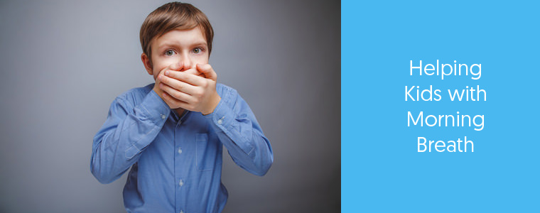 Feature image of a kid with bad breath