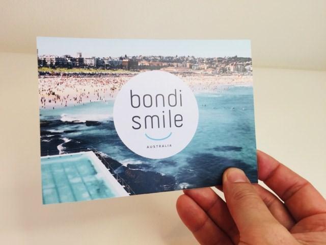 Bondi Smile thank you card