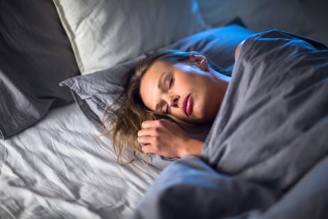Grinding your teeth can occur as you sleep