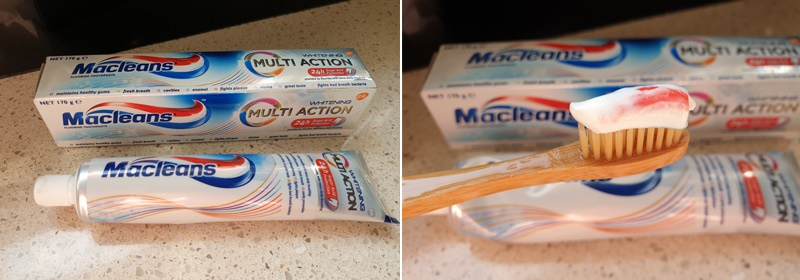 Macleans Multi Action Whitening toothpaste