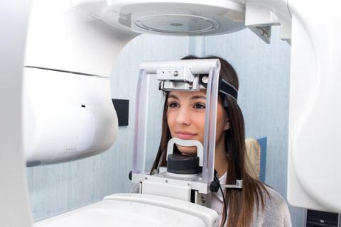 A Dental X-Ray called an OPG, or Orthopantomogram