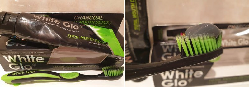 White Glo Charcoal Whitening Toothpaste