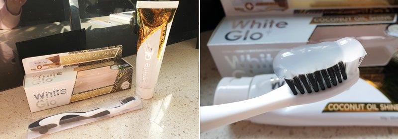 White Glo Coconut Oil Whitening Toothpaste
