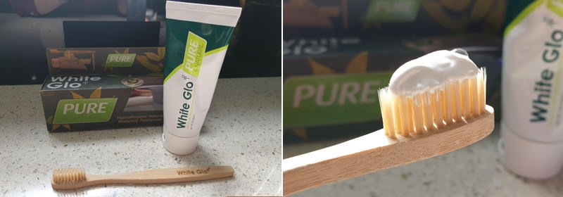 White Glo Pure & Natural Toothpaste