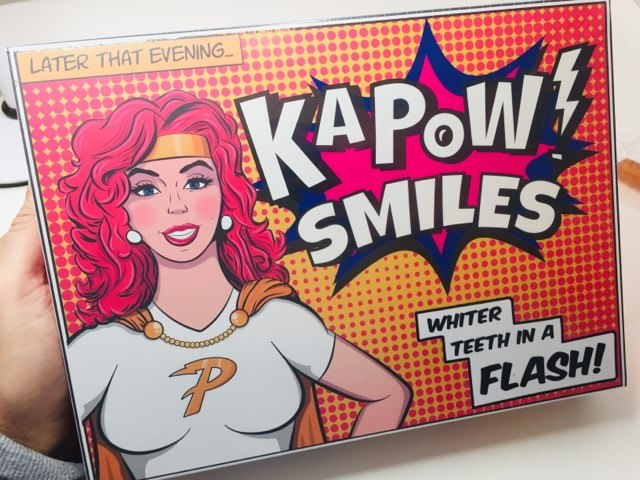 Kapow Smiles teeth whiteninig kit
