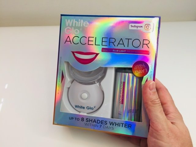 White GLO Accelerator Blue Light Whitening System