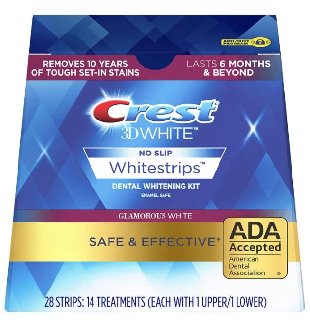 Crest 3d Whitening strips