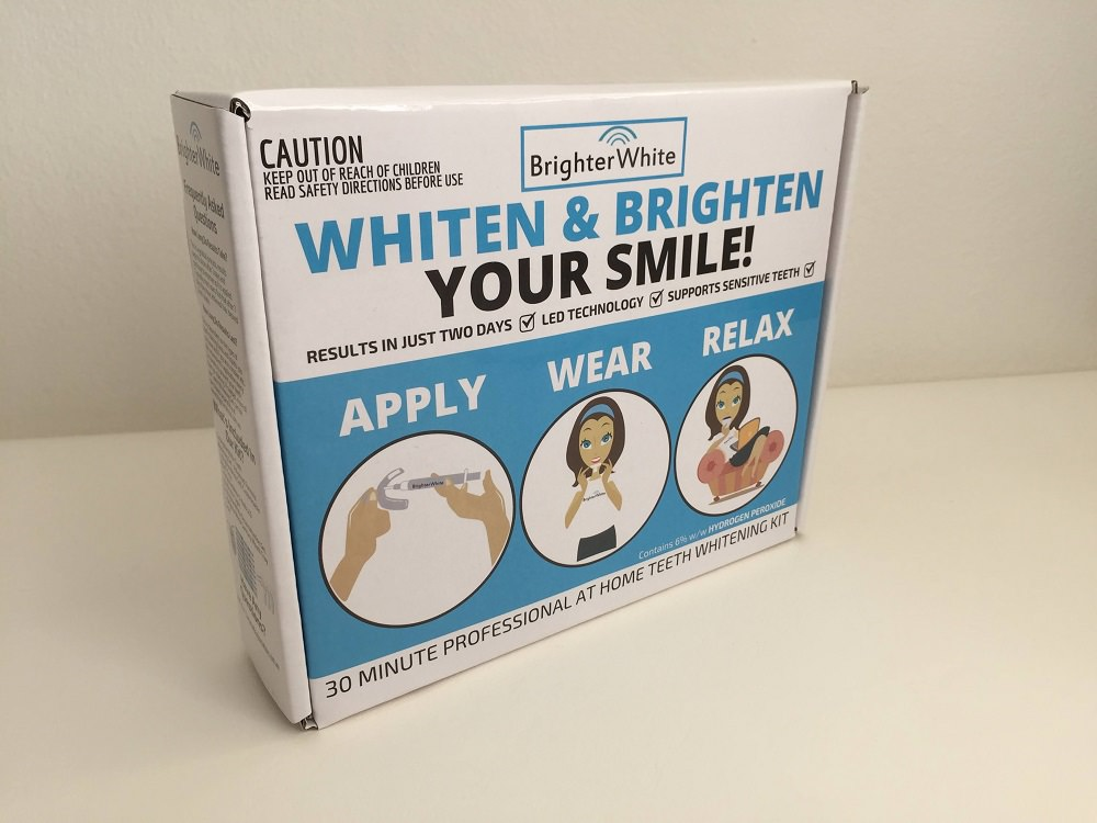 Brighter Whitening teeth whitening kit