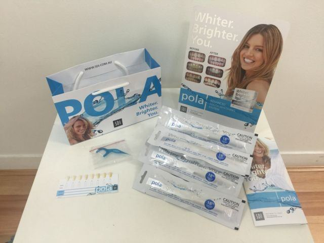 Pola Night Teeth Whitening kit