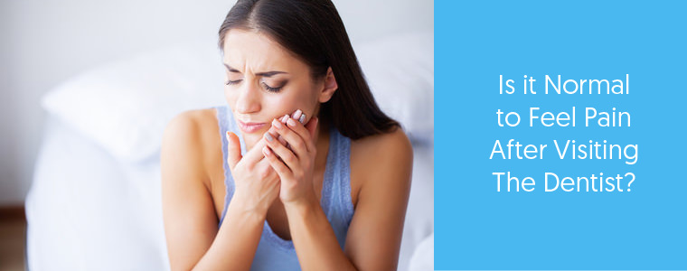 Pain After a Dental Visit – What is Normal, What is Not?