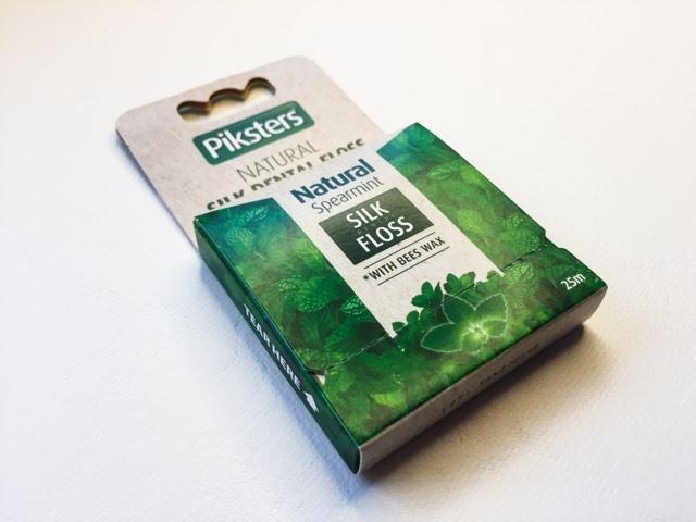Piksters Natural Silk Dental Floss Product