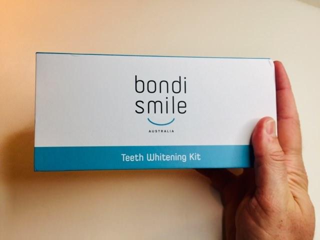 Holding the Bondi Smile Kit