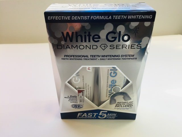 White GLO Diamond Series Packaging