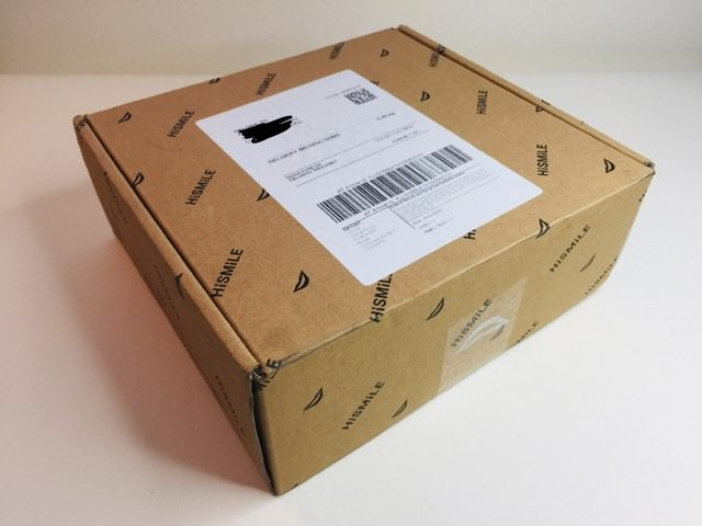 HiSmile shipping package