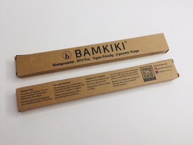 bamkiki bamboo toothbrush packaging
