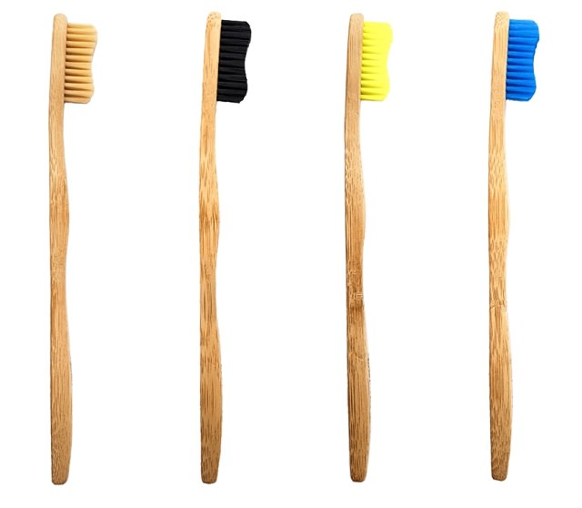 The Fab Four 4 pack of toothbrushes by bamkiki