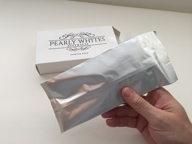 The Sealed Pearly Whites Gel Syringes