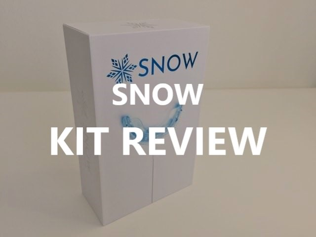 TrySNOW Teeth Whitening Kit review feature image