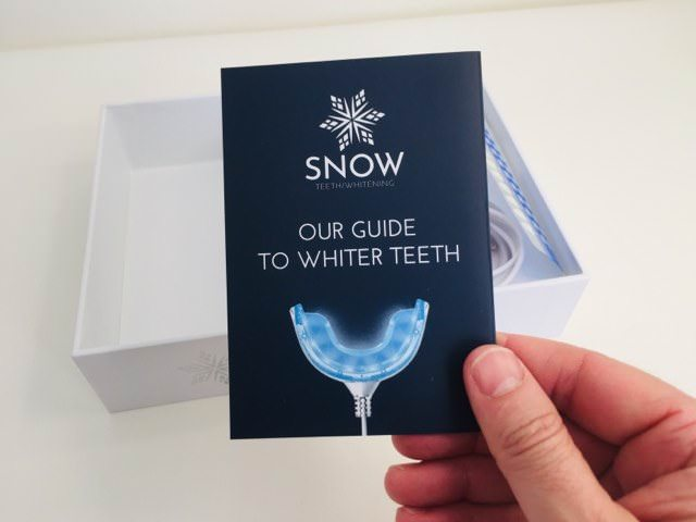 The Snow guide to whiter teeth