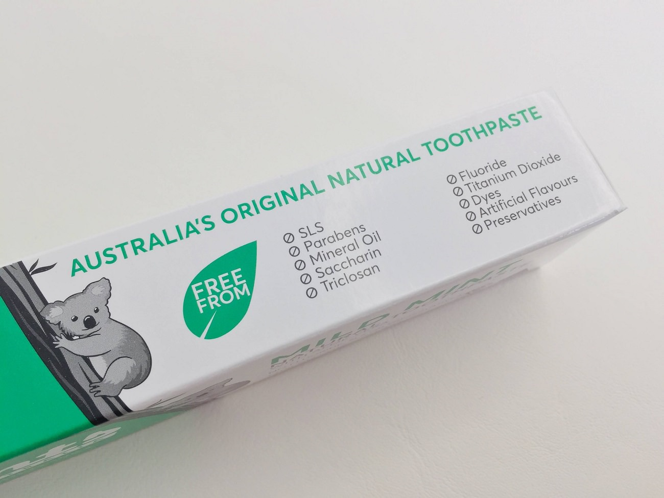Natural Mild Mint Toothpaste by Grants