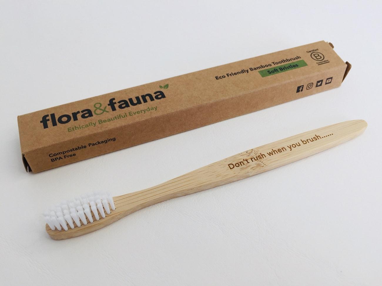Flora & Fauna Bamboo Toothbrush Feature image