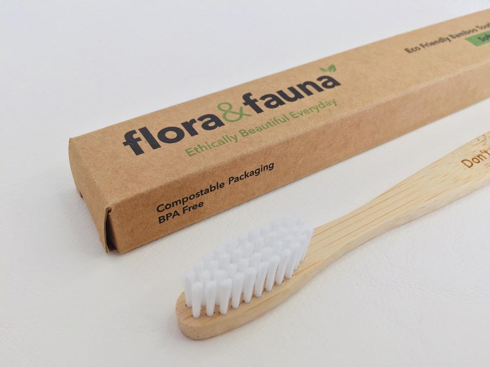 Flora & Fauna Bamboo Toothbrush Review
