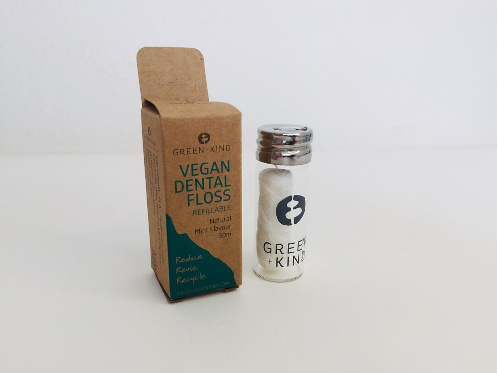 Green + Kind Vegan Dental Floss Review