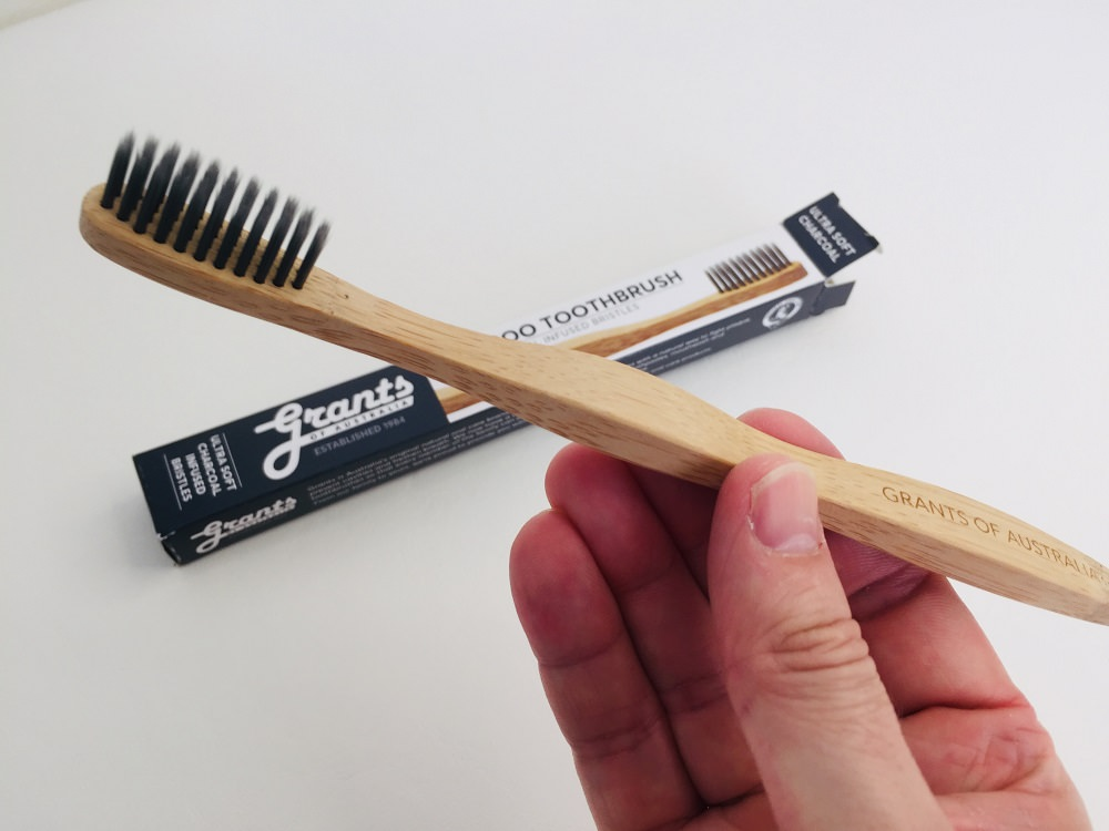 Grants of Australia Bamboo Charcoal Ultra Soft Toothbrush Review