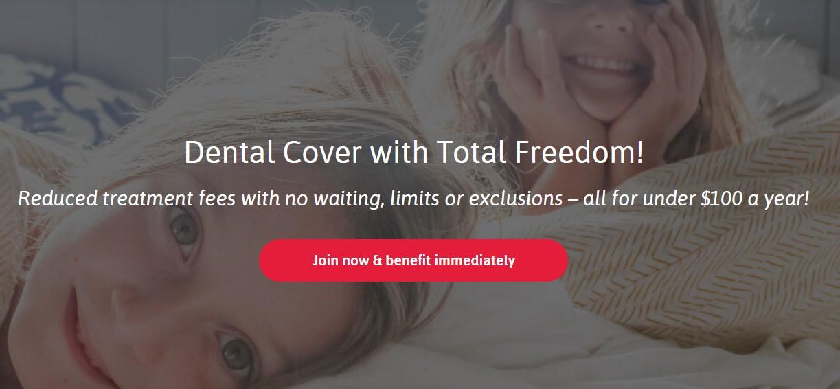 smile.com.au offers dental cover