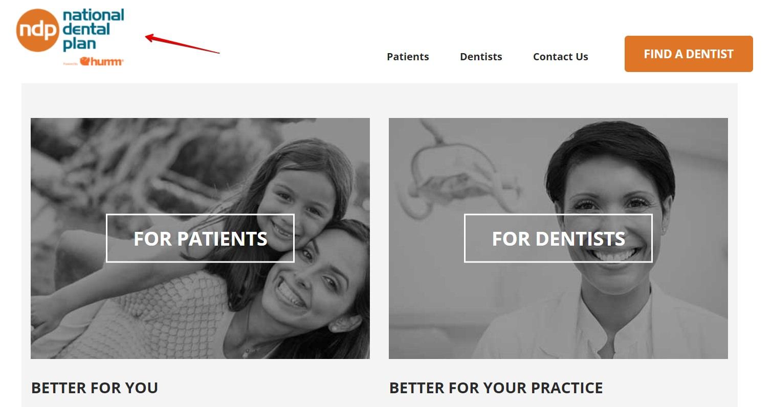 The national dental plan a screenshot