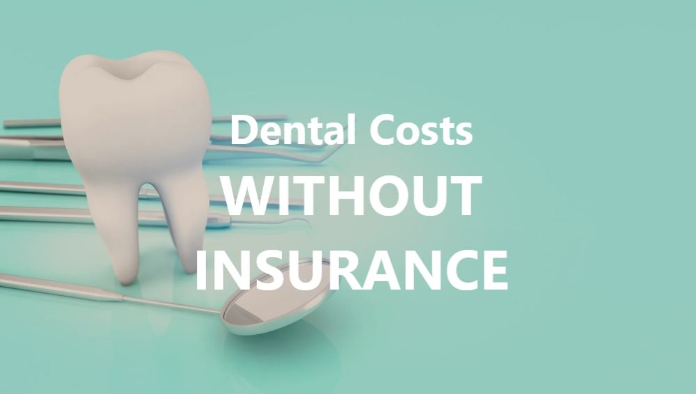Dental costs without insurance dental aware feature image