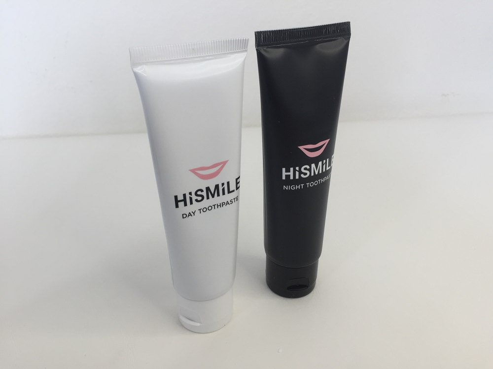HiSmile Day and Night Toothpaste review