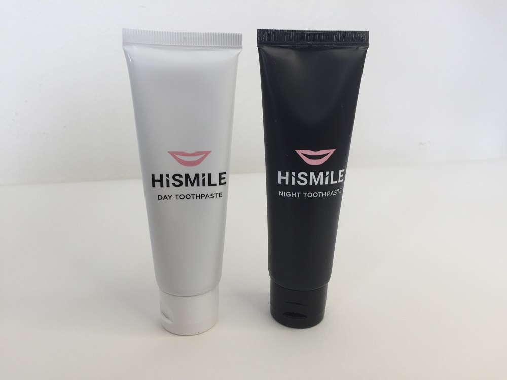 Day and Night Toothpaste by Hismile