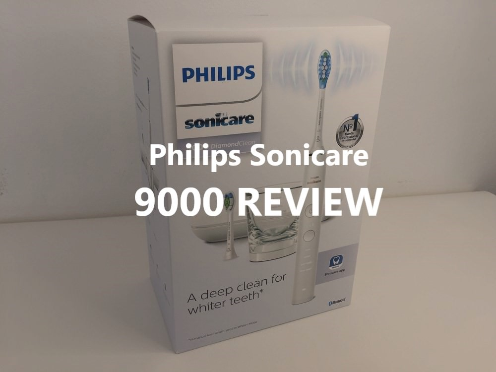Philips sonicare 9000 review dental aware feature