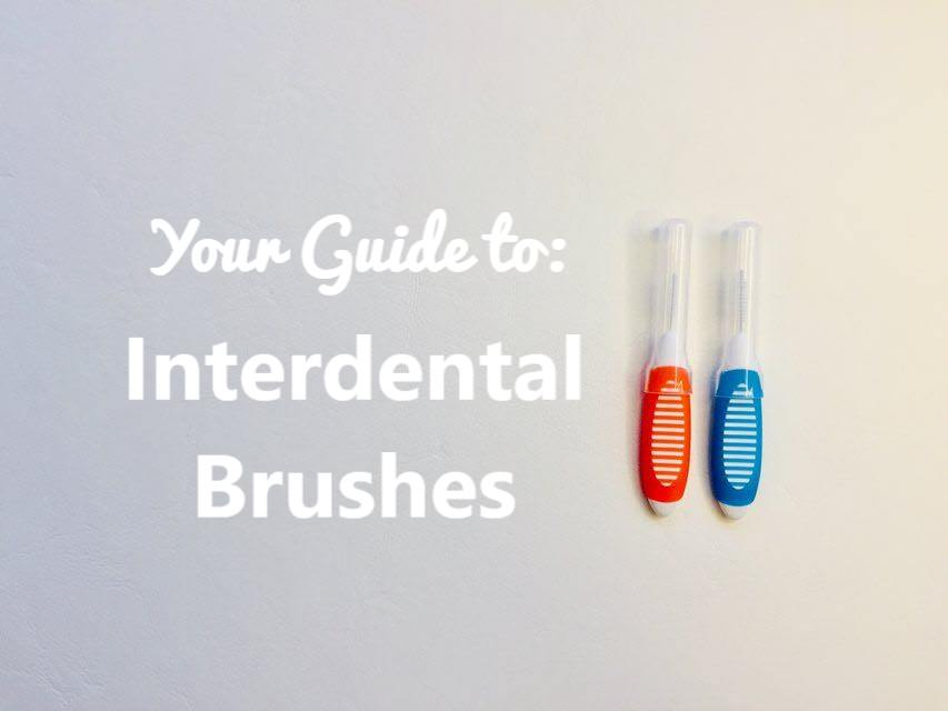 Feature image on interdental brushes dental aware