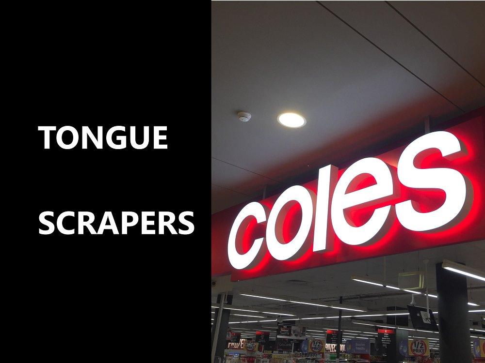 Tongue scrapers at coles feature image dental aware