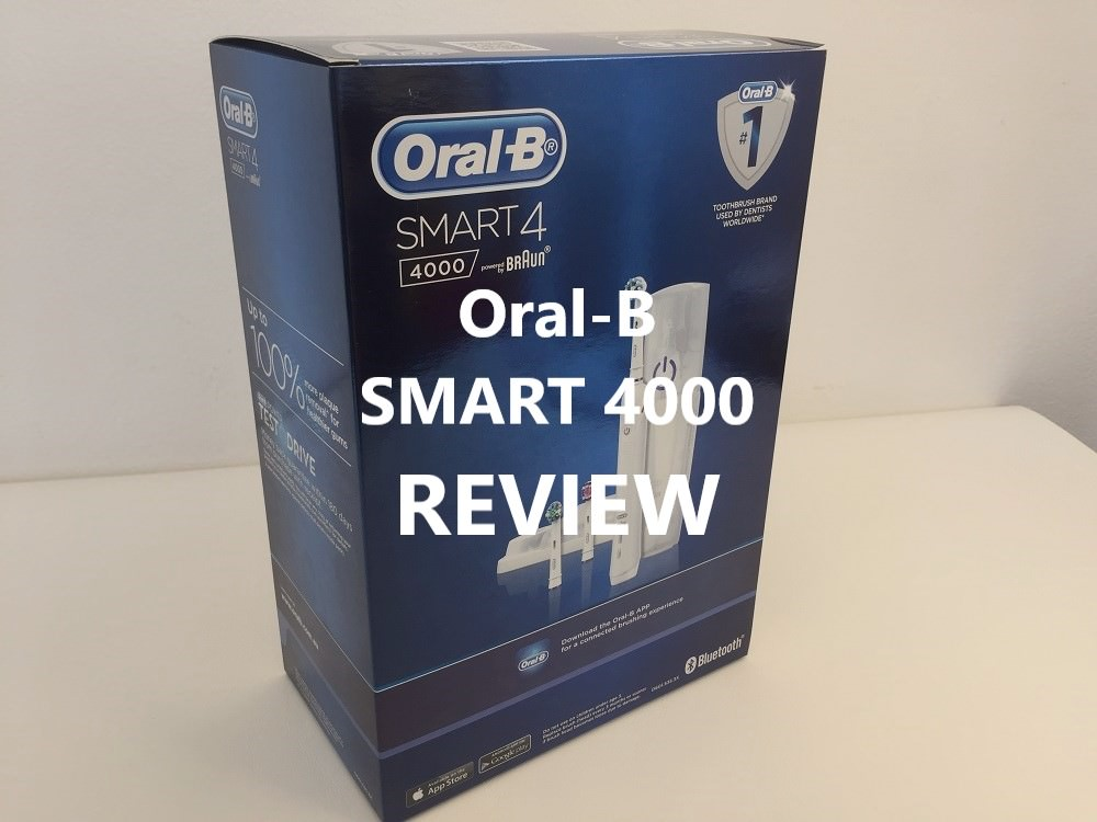 Oral b Smart 4000 Electric Toothbrush review